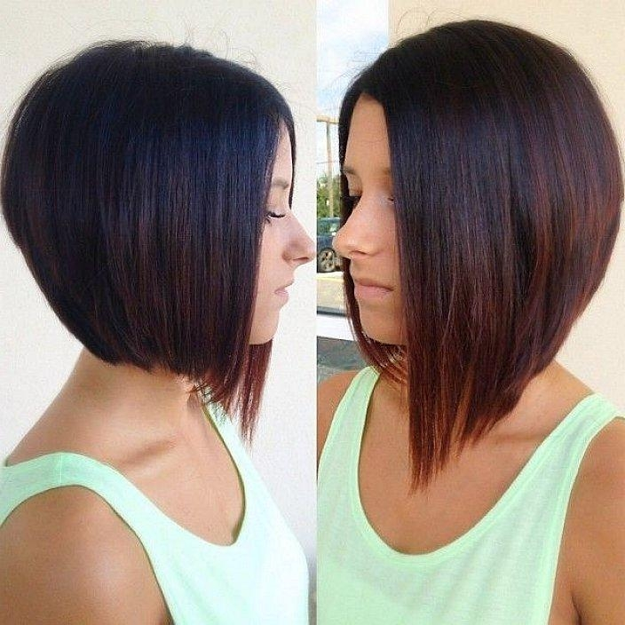 Newest Medium Length Inverted Bob Hairstyles For Shoulder Length Inverted Bob Advantages – Women Hairstyles (View 12 of 15)