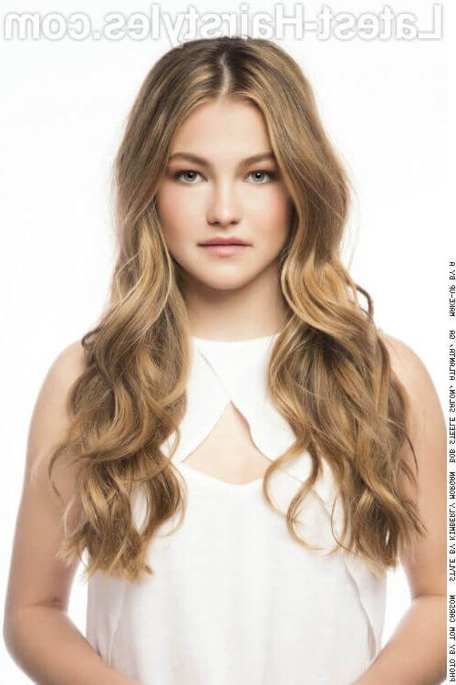 Party Hairstyles: 35 Fun & Chic Party Hairstyles To Rock This Weekend With Regard To Long Hairstyles For A Party (View 2 of 15)
