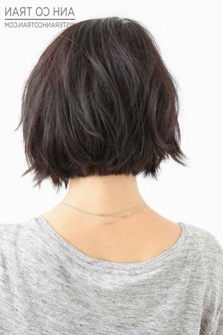 Popular Asymmetrical Bob Hairstyles Back View With 17 Medium Length Bob Haircuts: Short Hair For Women And Girls (View 15 of 15)