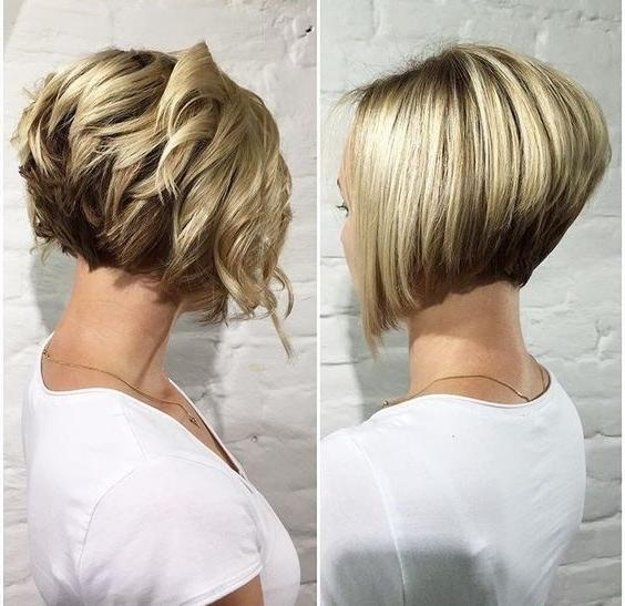 Popular Short Bob Hairstyles For Women Pertaining To Best 25+ Short Bob Hairstyles Ideas On Pinterest (View 10 of 15)