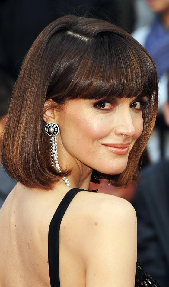 Preferred Rose Byrne Bob Hairstyles Regarding 19 Most Popular Bob Hairstyles In  (View 10 of 15)