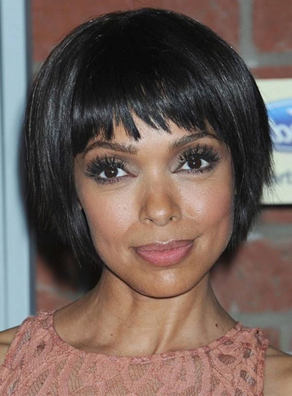 Photo Gallery Of African American Bob Hairstyles For Black Women