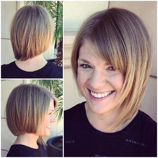 Recent Asymmetrical Bob Haircuts Pertaining To 21 Adorable Asymmetrical Bob Hairstyles – Pretty Designs (View 9 of 15)