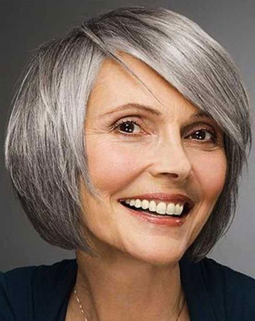 Recent Bob Hairstyles For Old Women With Thin Hair Pertaining To 15 Bob Hairstyles For Older Women (View 11 of 15)