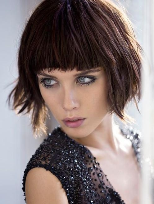 Recent Inverted Bob Hairstyles With Blunt Bangs For 8 Bob Hairstyles: Shaggy Bob Haircut Ideas – Popular Haircuts (View 8 of 15)