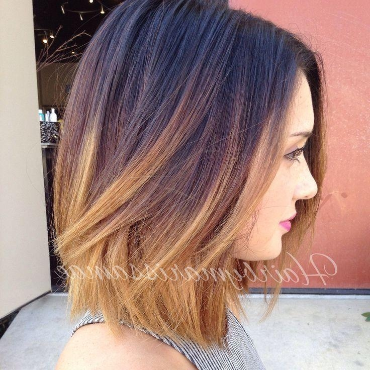 Recent Short Colored Bob Hairstyles Inside Best 25+ Bob Hair Color Ideas On Pinterest (View 13 of 15)