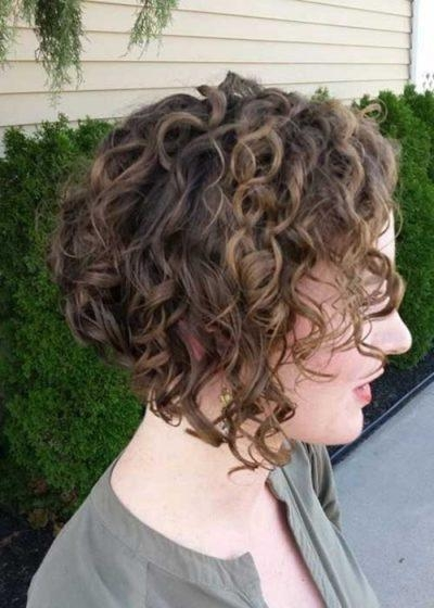Reverse Bob Curly Hair Regarding Present Your Beauty – My Salon Inside Widely Used Inverted Bob For Curly Hair (View 6 of 15)