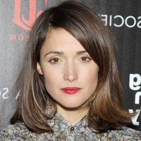 Rose Byrne, Rose Byrne Pertaining To Well Liked Rose Byrne Bob Hairstyles (View 13 of 15)