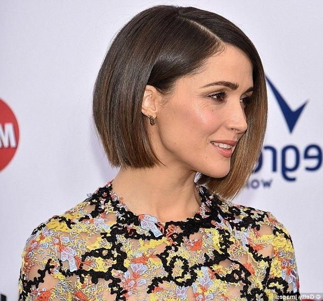 Rose Byrne Style, Rose Inside Well Liked Rose Byrne Bob Hairstyles (View 12 of 15)
