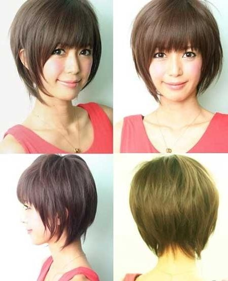 Short Hairstyle For Asian Girl | Short Hairstyles 2016 – 2017 With Regard To Short Hairstyle For Asian Women (View 14 of 15)