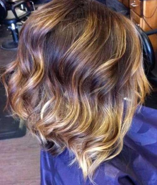 Short Hairstyles 2016 – 2017 Inside Preferred Wavy Inverted Bob Hairstyles (View 15 of 15)