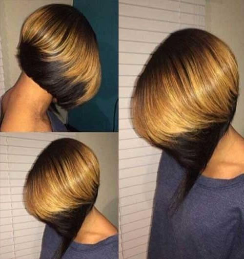 Short Hairstyles 2016 – 2017 Intended For 2018 Short Colored Bob Hairstyles (View 15 of 15)