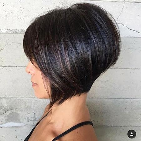 Short Hairstyles 2016 – 2017 Regarding Newest Bob Hairstyles (View 12 of 15)