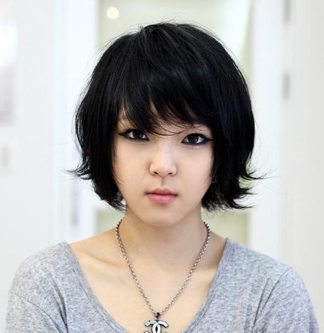 Short Hairstyles For Korean Girls Inside Short Hairstyles For Korean Girls (View 9 of 15)