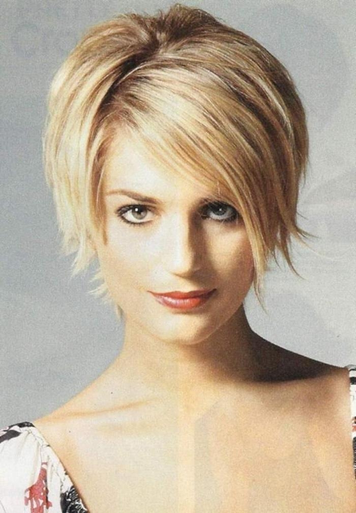 Short Hairstyles : Layered Short Bob Hairstyles 2016 Hairstyle With Most Current Short Layered Bob Hairstyles (View 13 of 15)