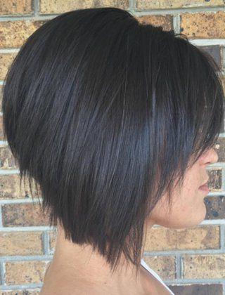 Short Inverted Pertaining To Most Popular Inverted Bob Hairstyles With Bangs (View 15 of 15)