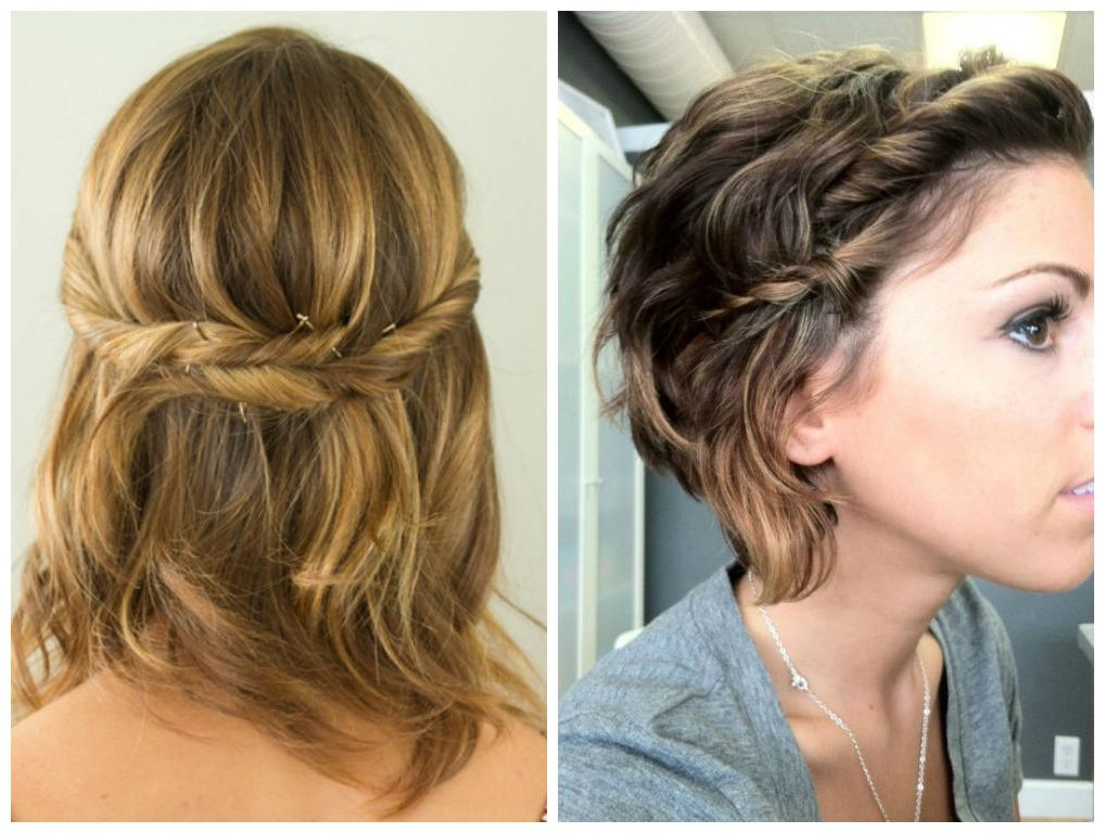Simple Twist Hairstyle For Short Hair – Hair World Magazine Regarding Trendy Simple Style Bob Hairstyles (View 14 of 15)