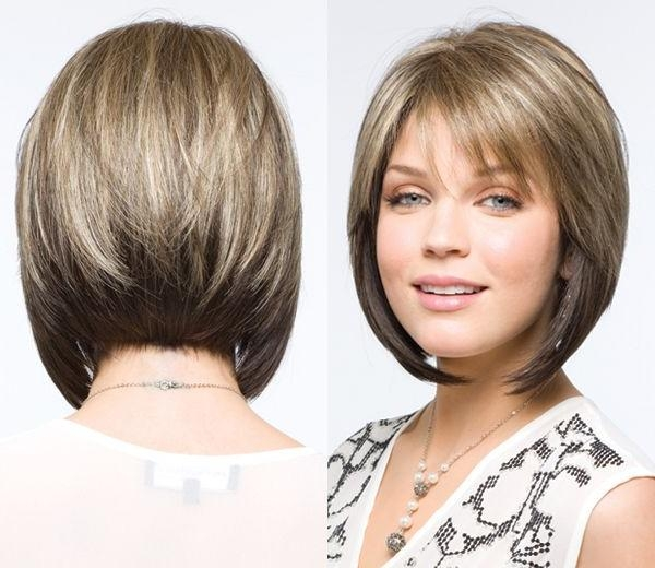 Stacked Pertaining To Well Known Graduated Inverted Bob Hairstyles With Fringe (View 13 of 15)