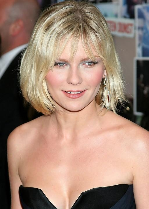 Styles Weekly With Regard To Well Liked Kirsten Dunst Bob Hairstyles (View 12 of 15)