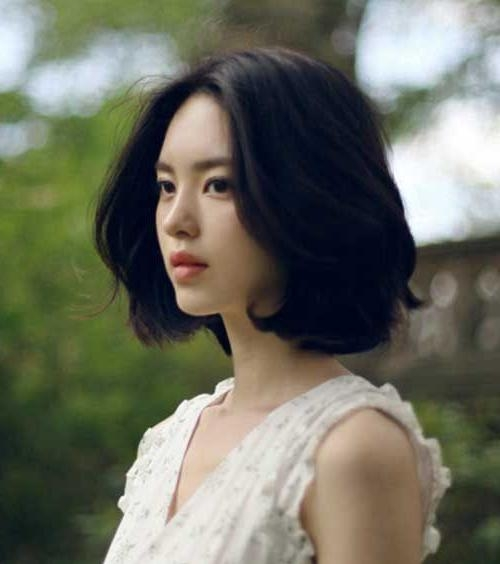 The 25+ Best Asian Short Hairstyles Ideas On Pinterest | Asian Pertaining To Korean Short Hairstyles For Beautiful Girls (View 12 of 15)