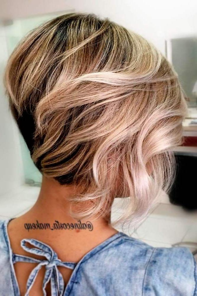 The 25+ Best Short Layered Hairstyles Ideas On Pinterest | Hair Inside Long And Short Layers Hairstyles (View 15 of 15)