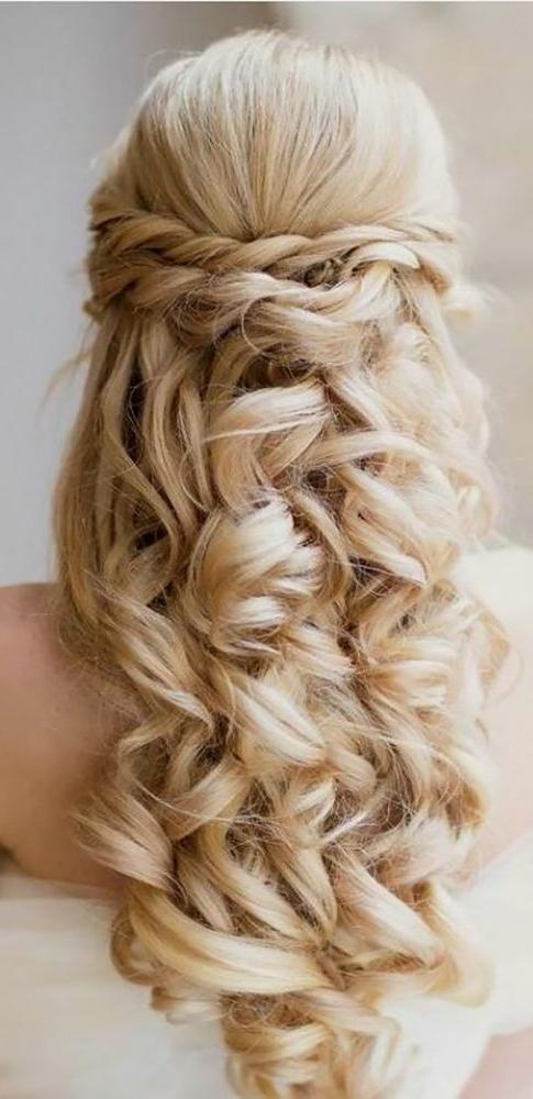 The 25+ Best Wedding Hairstyles Long Hair Ideas On Pinterest Pertaining To Hairstyles For Long Hair For Wedding (View 12 of 15)