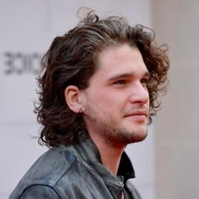Featured Photo of Men Long Curly Hairstyles