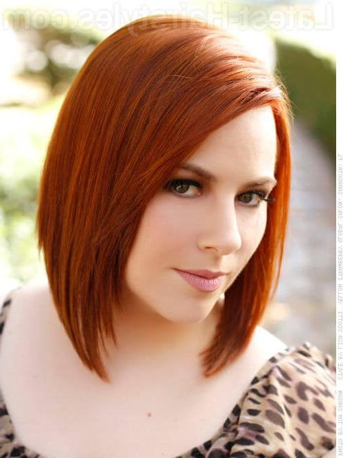 These 32 Medium Bob Hairstyles Are Trending In 2017 Intended For Current Medium Length Bob Hairstyles With Bangs (View 14 of 15)