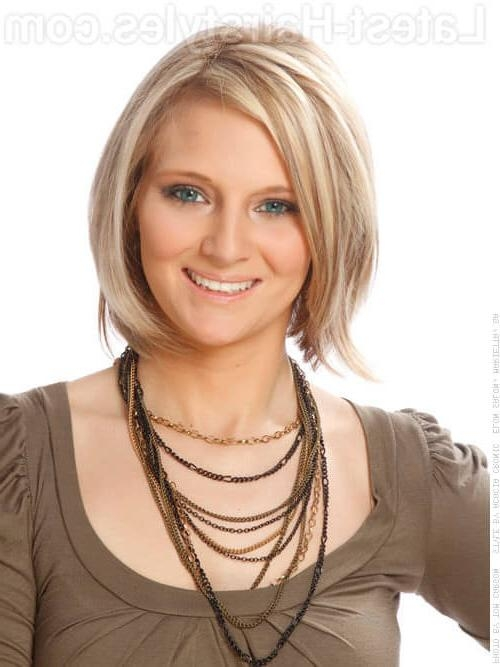 These 32 Medium Bob Hairstyles Are Trending In 2017 Regarding Current Medium Length Bob Hairstyles For Fine Hair (View 14 of 15)