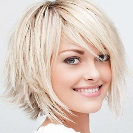 Thin Hair Bobs, Fine With Trendy Medium Length Bob Hairstyles For Fine Hair (View 15 of 15)