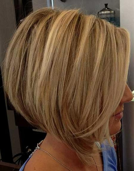 Trendy Blonde Bob Hairstyles Regarding 25 Blonde Bob Haircuts (View 14 of 15)