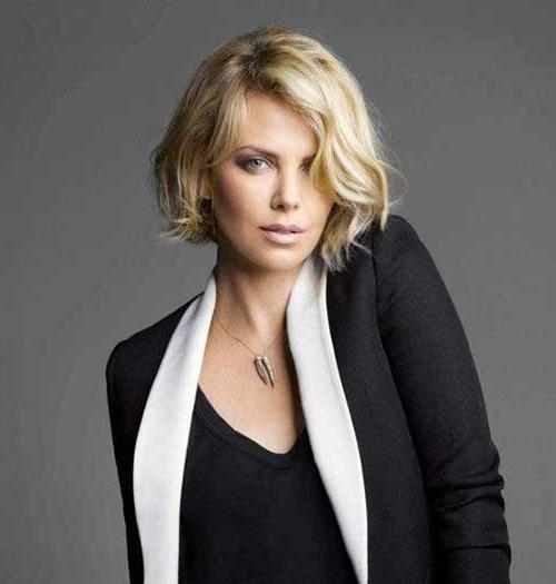 Trendy Charlize Theron Bob Hairstyles With Regard To Charlize Theron Bob Haircut – Haircuts Models Ideas (View 4 of 15)