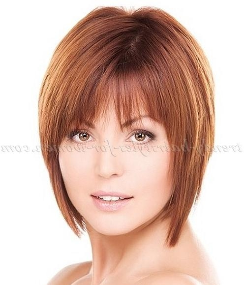 Trendy Hairstyles For In Most Popular Short Layered Bob Hairstyles For Fine Hair (View 15 of 15)