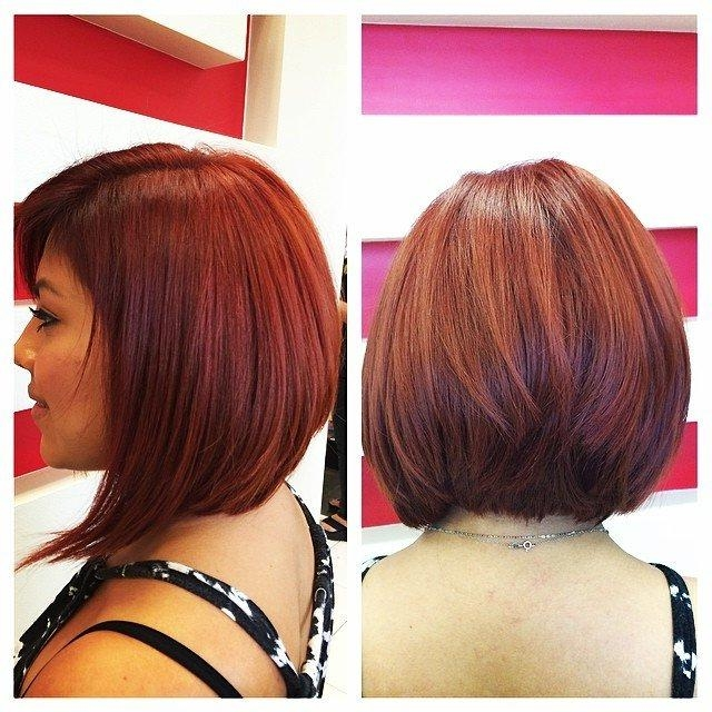 Trendy Medium Length Bob Hairstyles For Thick Hair With 23 Cute Bob Haircuts & Styles For Thick Hair: Short, Shoulder (View 13 of 15)