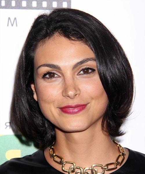 Trendy Morena Baccarin Bob Hairstyles Throughout Morena Baccarin Hairstyles For  (View 11 of 15)