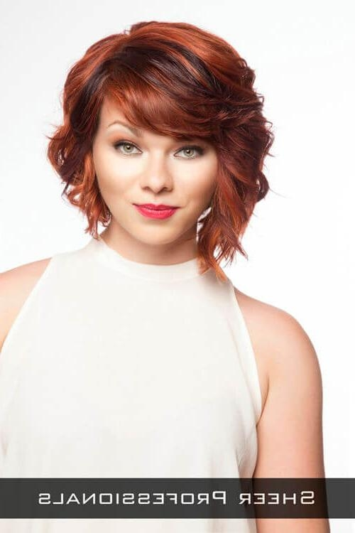 Trendy Wavy Bob Hairstyles With Bangs For 40 Awesome Wavy Bob Hairstyles You've Never Tried Before (View 12 of 15)