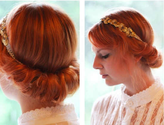 Vintage Hairstyles For Layered Hair Throughout Easy Vintage Hairstyles For Long Hair (View 13 of 15)