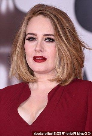 Well Known Adele Shoulder Length Bob Hairstyles Inside Best 25+ Adele Haircut Ideas On Pinterest (View 15 of 15)