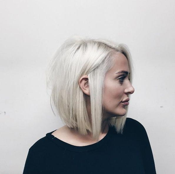 Well Known Blonde Bob Hairstyles With Best 25+ Blonde Bob Haircut Ideas On Pinterest (View 3 of 15)