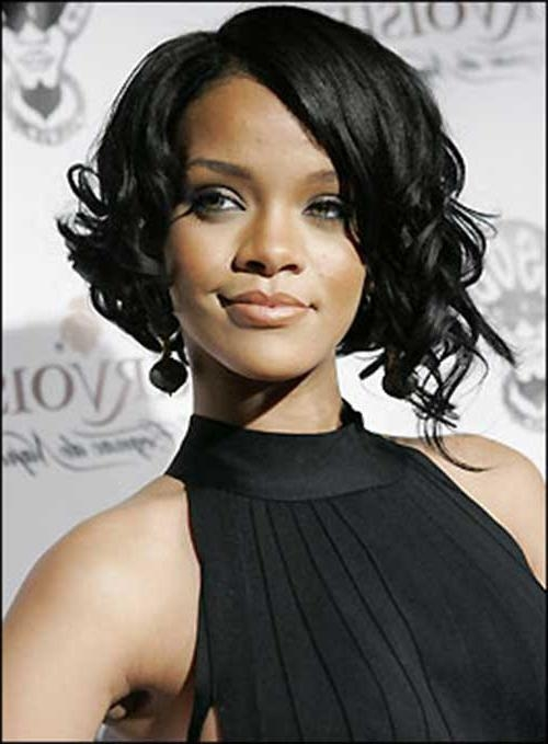 Well Known Rihanna Bob Hairstyles Within 15 Best Rihanna Bob Hair (View 15 of 15)