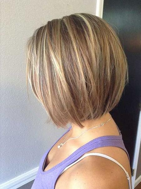 Well Known Short Bob Hairstyles Regarding 50 Short Bob Hairstyles 2015 –  (View 15 of 15)
