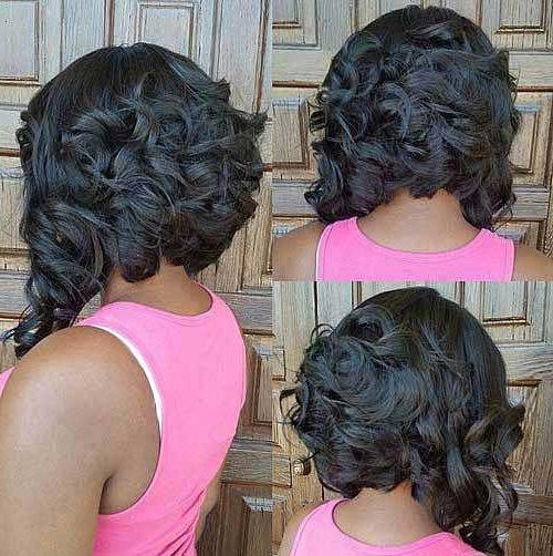 Well Known Short Curly Inverted Bob Hairstyles In 20 Inverted Bob Hairstyles (View 13 of 15)