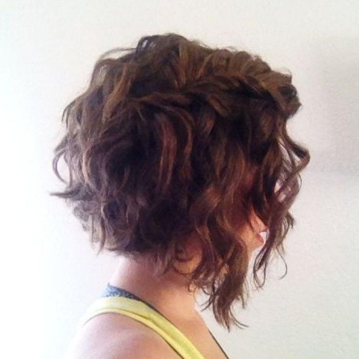 Well Known Short Curly Inverted Bob Hairstyles Inside The 25+ Best Curly Inverted Bob Ideas On Pinterest (View 14 of 15)