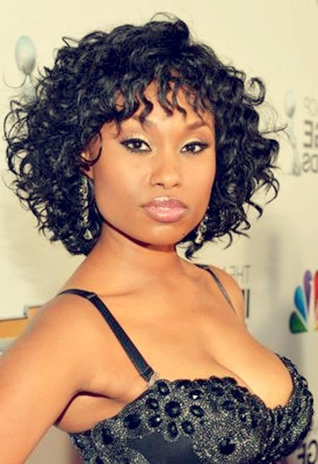 Well Known Wavy Bob Hairstyles For Black Women Intended For 25 Nice Short Hairstyles For Black Women (View 14 of 15)