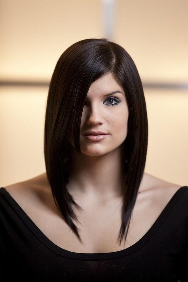 Well Liked Asymmetrical Bob Hairstyles For Beautiful Women Regarding Long Bob Haircuts Are Sexy And Trendy To Look Gorgeous (View 14 of 15)