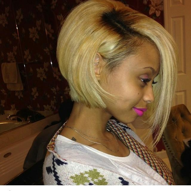 Well Liked Asymmetrical Bob Hairstyles For Black Women With Regard To 17 Trendy Bob Hairstyles For African American Women  (View 15 of 15)