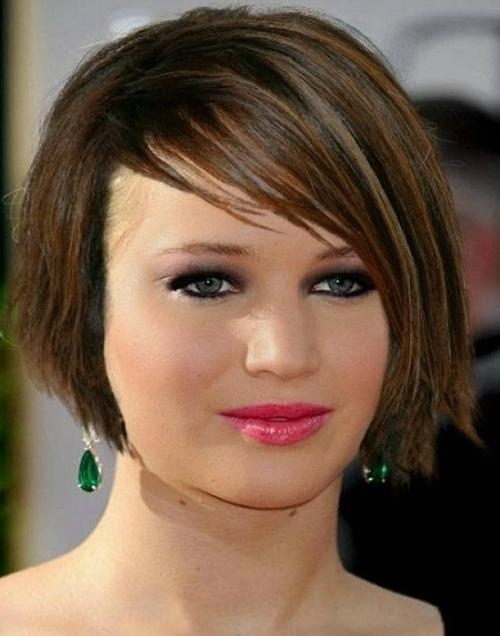 Well Liked Jennifer Lawrence Short Bob Haircuts In Jennifer Lawrence Short Bob Hairstyles (View 15 of 15)