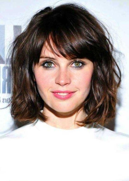 Well Liked Wavy Bob Hairstyles With Bangs For 35 Awesome Bob Haircuts With Bangs – Makes You Truly Stylish (View 15 of 15)
