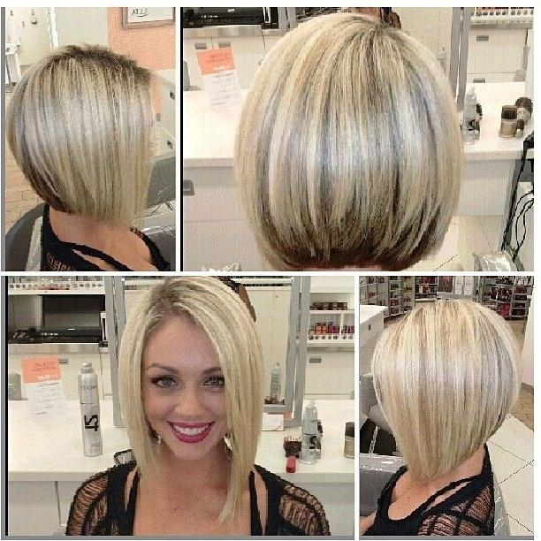 Widely Used Asymmetrical Bob Haircuts Inside Blonde Asymmetrical Bob – Hairstyle Foк Women & Man (View 15 of 15)
