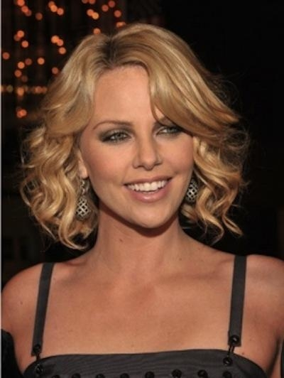 Widely Used Charlize Theron Bob Hairstyles Throughout Charlize Theron Curly Bob Hairstyle – Dora Fashion Space – Fashion (View 12 of 15)